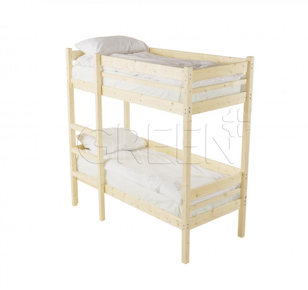 Детская двухъярусная кровать Дональд 80х160
