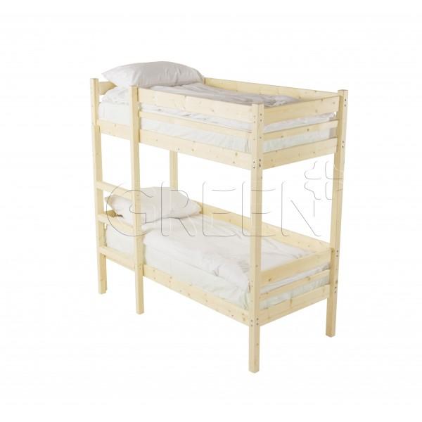 Детская двухъярусная кровать Дональд 90х200 фото
