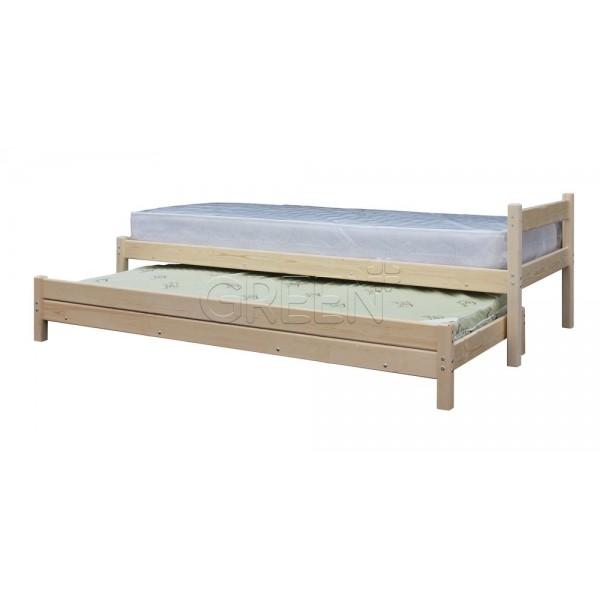 Кровать с выдвижным спальным местом 2 в 1 фото