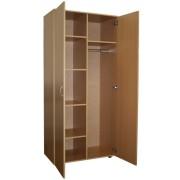 Шкаф двухстворчатый ЛДСП комбинированный