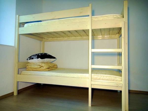 Купить недорогую двухъярусную кровать